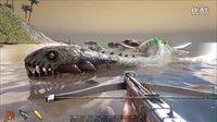 矿蛙【方舟生存进化】第二季 46 攻略蛇颈龙