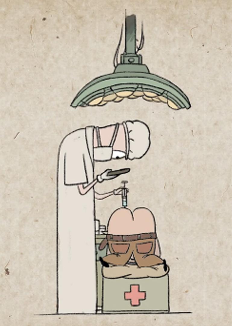 《低头人生》动画