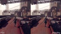 【游侠网】《尼尔:机械纪元》试玩版PS4与PS4 Pro画质帧数对比
