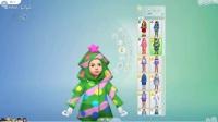 《模拟人生4》DLC春夏秋冬四季试玩实况1衣服和活动日历介绍
