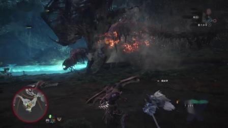 怪物猎人世界怎么用蛮颚弓打尸套龙