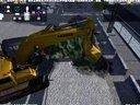 挖掘机技术哪家强?斗鱼蓝翔集团!挖掘机模拟 第三、四张图 全完结