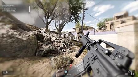 《叛乱:沙漠风暴》全武器+火力支援实战演示