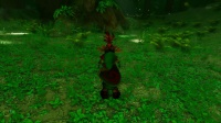 """【亚洲城娱乐】虚幻引擎4重制《塞尔达传说:时之笛》迷失森林""""场景"""