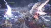 《怪物猎人世界》斩斧4分钟讨伐上位麒麟