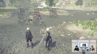 《尼尔:机械纪元》开放世界游戏体验演示视频