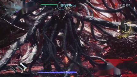 《鬼泣5》血宫模式 但丁全BOSS战