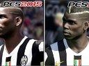 《实况足球2015》与《实况足球2014》对比视频2