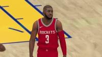 【游侠网】《NBA 2K19》勇士队vs火箭队比赛视频