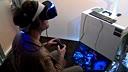 索尼虚拟现实眼镜联动PS4影像!