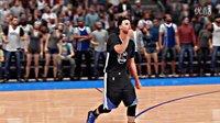 【游侠网】《NBA 2K16》库里三分绝杀