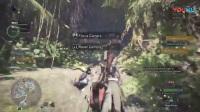 《怪物猎人世界》多人组队玩法演示1