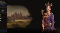 《文明6风云变幻》法国埃莉诺144T文化胜利