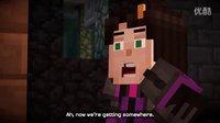 【易拉罐】【我的世界故事模式第5章】正式版 大量僵尸围攻 神秘的打火石【Minecraft Story】