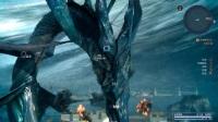 《最终幻想15》水神之战打法视频
