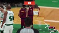 《NBA 2K18》Vs《NBA Live18》画质对比