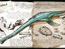 【峻晨解说】方舟生存进化新-58-教你如何20秒驯服蛇颈龙,起来了,起来了!!