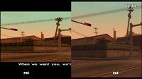 《侠盗猎车手:圣安地列斯》PS4 vs PS2实机演示