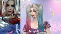 《模拟人生4》哈莉奎因捏脸教程演示
