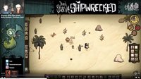 饥荒游戏 Shipwrecked失落之船  klei官方的46分钟试玩EP1火女  twitch直播 海难 Don't Starve: Shipwrecked