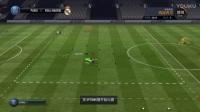 《fifa18》移动的技术5星花式过盘带训练