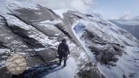 """【游侠网】玩家穿越《大镖客2》北边雪山的""""风暴边缘""""区域"""