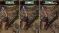【游侠网】《古墓丽影:崛起》PS4/XboxOne/PC版画质对比