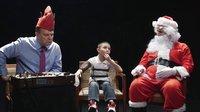 给熊孩子接上测谎仪!圣诞老人来问问题