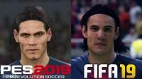 巴黎圣日耳曼球员:《FIFA 19》VS《实况足球2019》