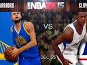 NBA 2K15圣诞大战-勇士VS快船
