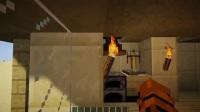 《我的世界》造一个简约舒适的沙漠房子