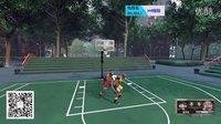 NBA-詹姆斯科比-街球模式1on1-H4程靖解说