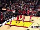 NBA 2K15 快船VS热火 第四节 我也不知道为啥波什是全场最佳。。