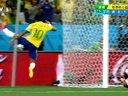 【巴西VS克罗地亚】内马尔高难动作踢空 巴西反攻失良机