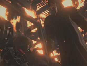 《惊声尖叫》蒙面杀手闯入《生化2重制》