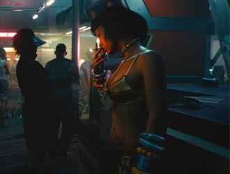 《赛博2077》光追图片展示 细节更逼真