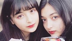 最美混血姐妹花!「Erika」&「Marina」