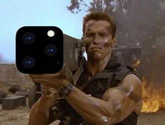 施瓦辛格用iPhone专属火箭筒手机壳乐坏了!