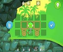 《愤怒的小鸟:捣蛋猪》游戏壁纸