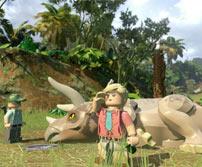 《乐高:侏罗纪世界》游戏壁纸