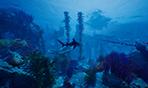 《食人鯊》實機演示