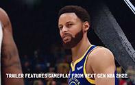 《NBA 2K22》最新实机演示