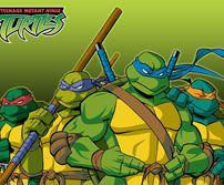 《忍者神龟》精美游戏壁纸