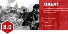 《英雄连2:英国部队》IGN8.0分!优秀的独立扩展包