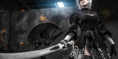 堪比CG!《尼尔:机械纪元》2B超神COS引玩家热议