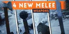 棒槌+砍斧?《战地1》新DLC追加近战武器部分演示