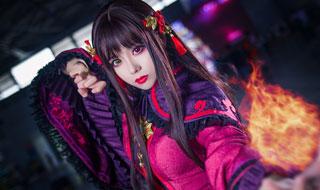 CJ2017:《梦幻西游》电脑版cosplay赏 小姐姐迷人眼