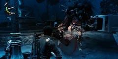 《恶灵附身2》最新BOSS战完整演示 UI界面和操作说明