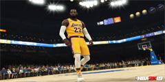 """《NBA 2K19》詹姆斯新截图""""皇帝""""球衣帅气十足!"""