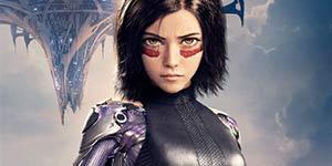 《阿丽塔:战斗天使》中文海报 角色人物各现炫酷
